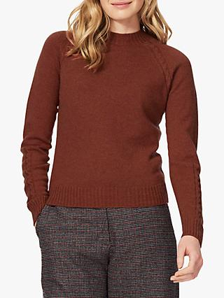 Brora Cashmere Cable Detail Jumper
