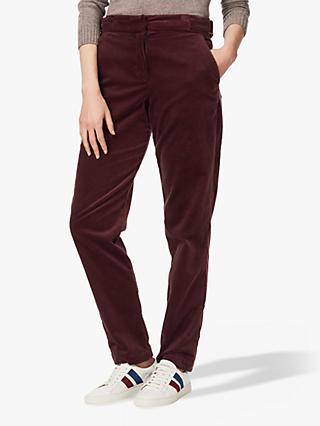Brora Cotton Corduroy Slim Trousers