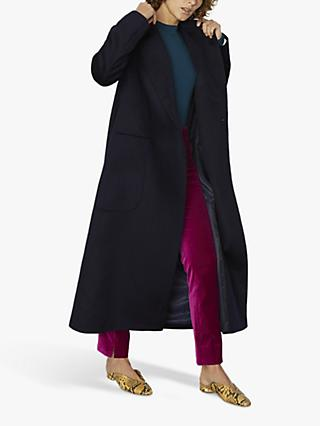 Jigsaw Wool Long City Maxi Coat