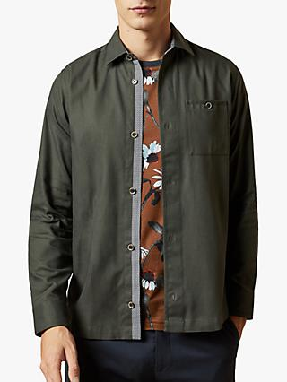 Ted Baker Regle Long Sleeve Over Shirt