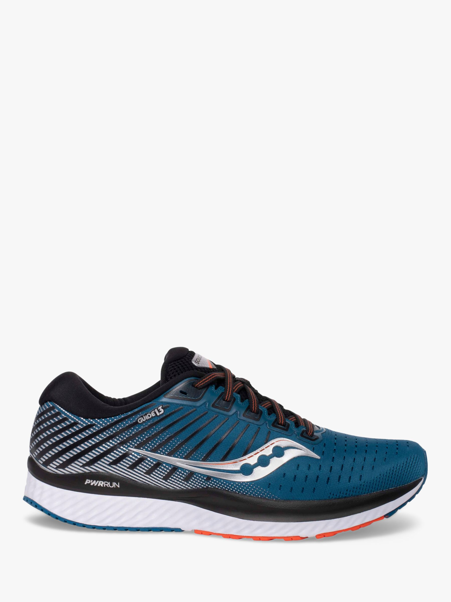 Saucony Saucony Guide 13 Men's Running Shoes, Blue/Silver