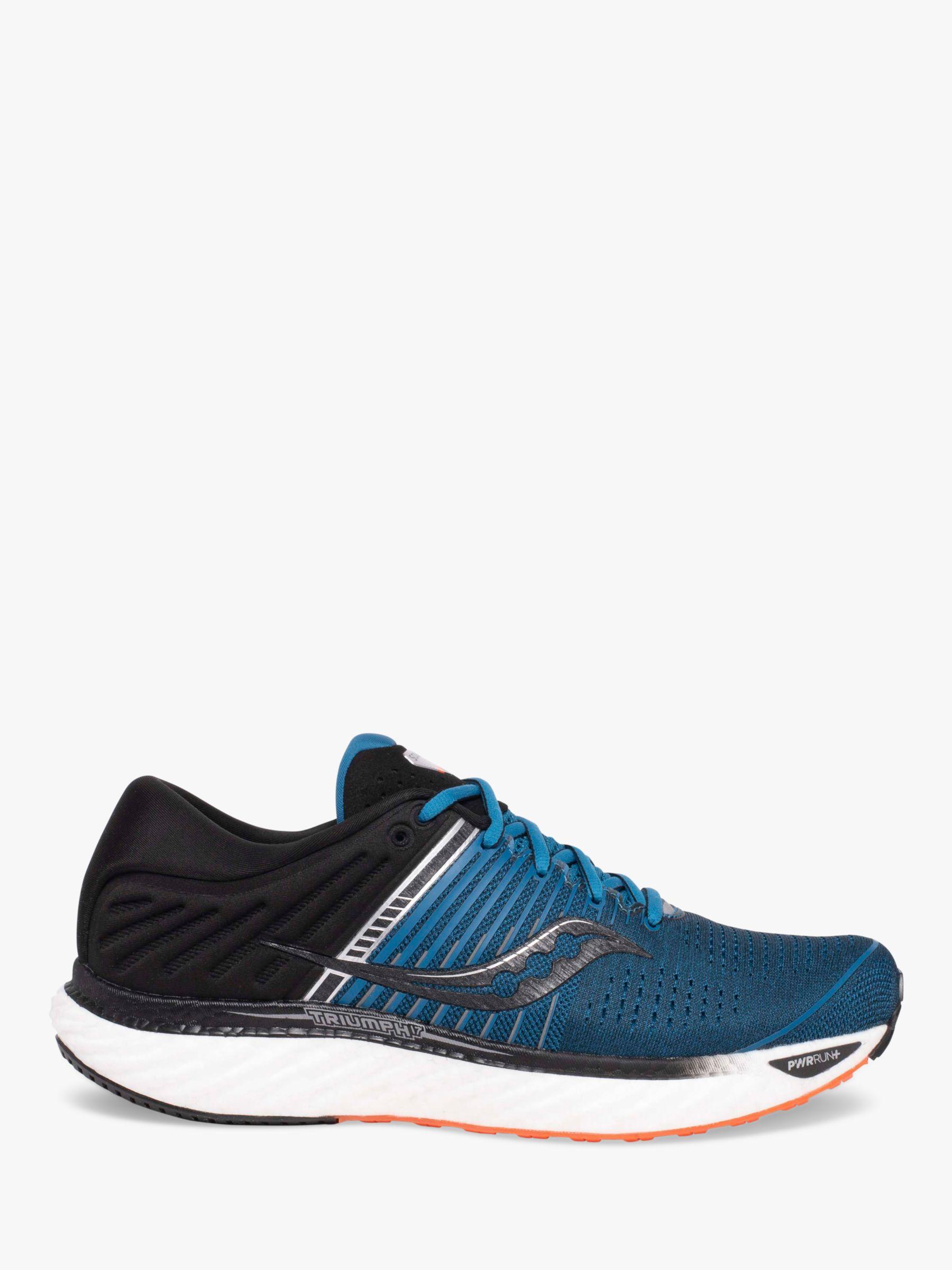 Saucony Saucony Triumph 17 Men's Running Shoes, Blue/Black