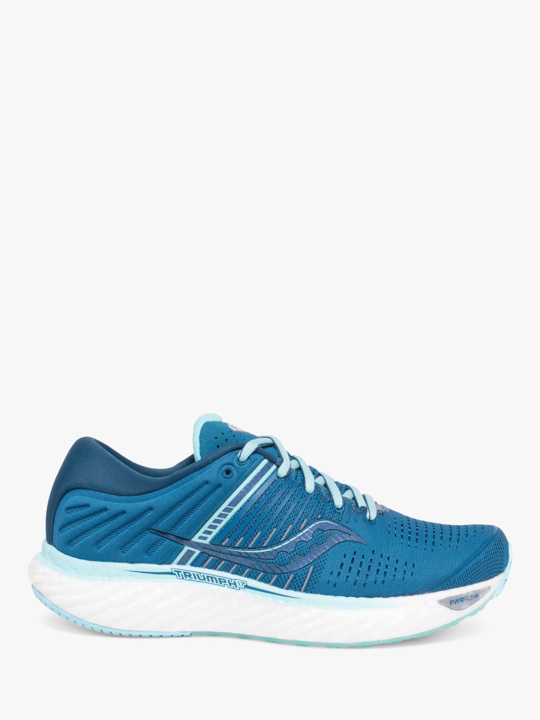 Saucony Saucony Triumph 17 Women's Running Shoes, Aqua Blue