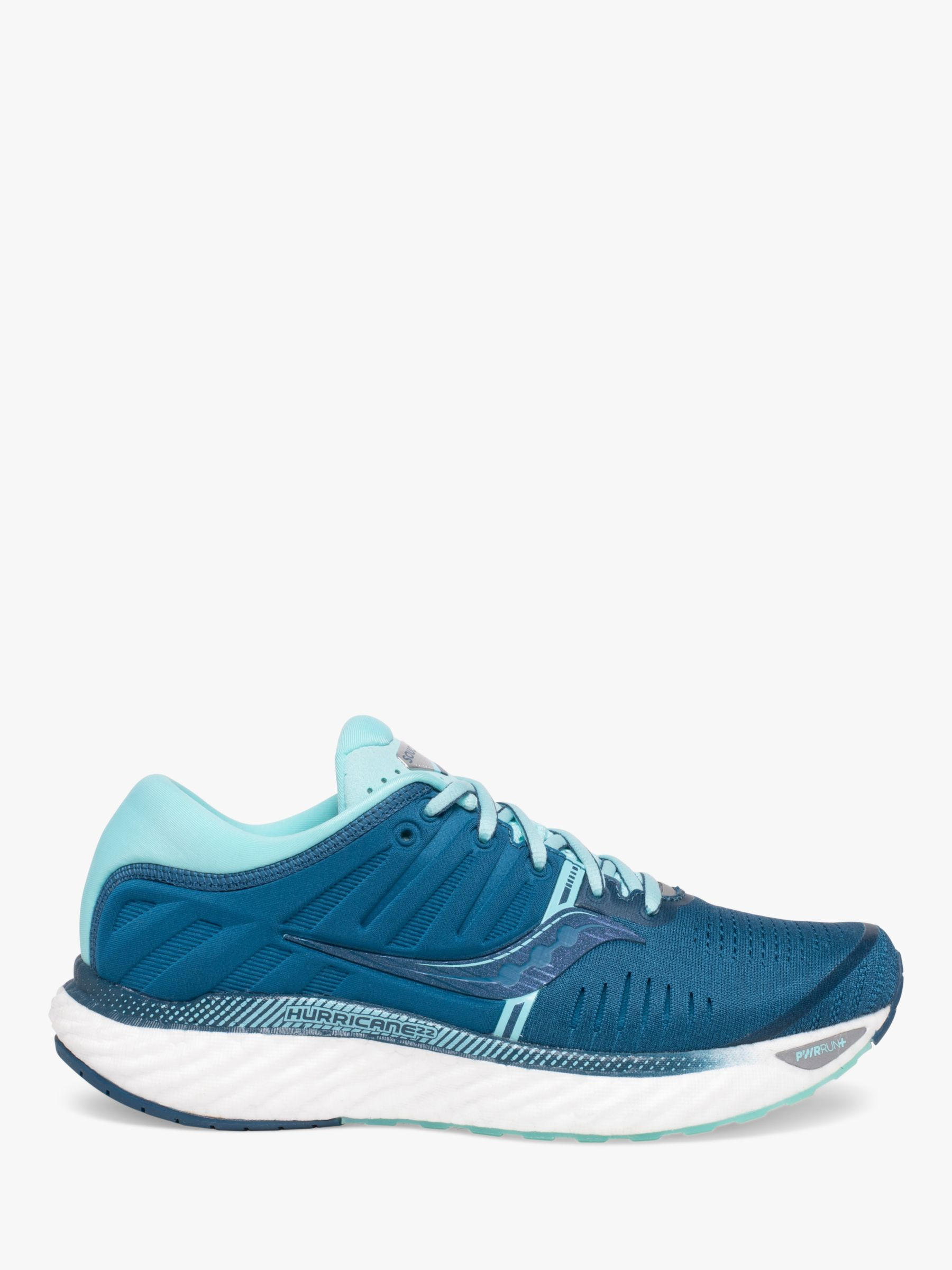Saucony Saucony Hurricane 22 Women's Running Shoes, Blue/Aqua