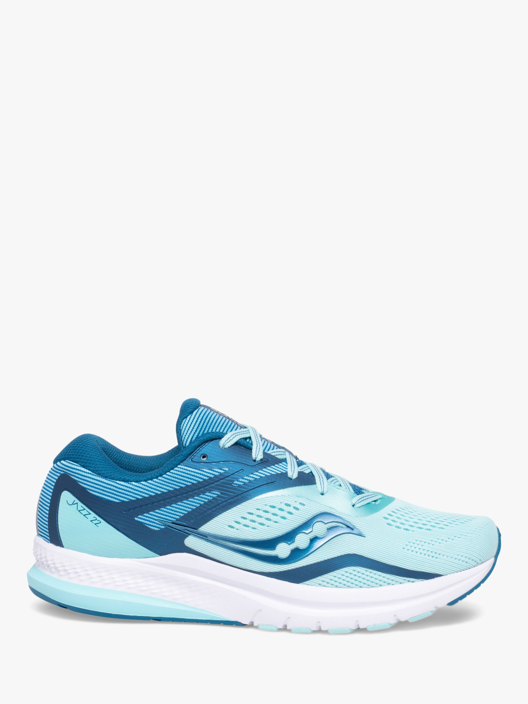 Saucony Saucony Jazz 22 Women's Running Shoes, Blue/Aqua