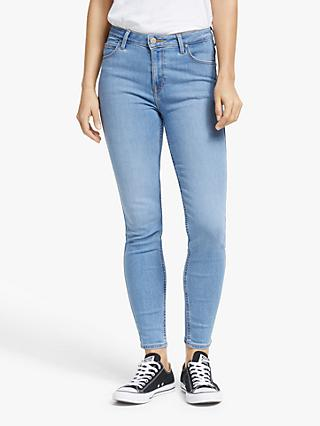 Lee Scarlett High Waist Skinny Jeans, Light Florin