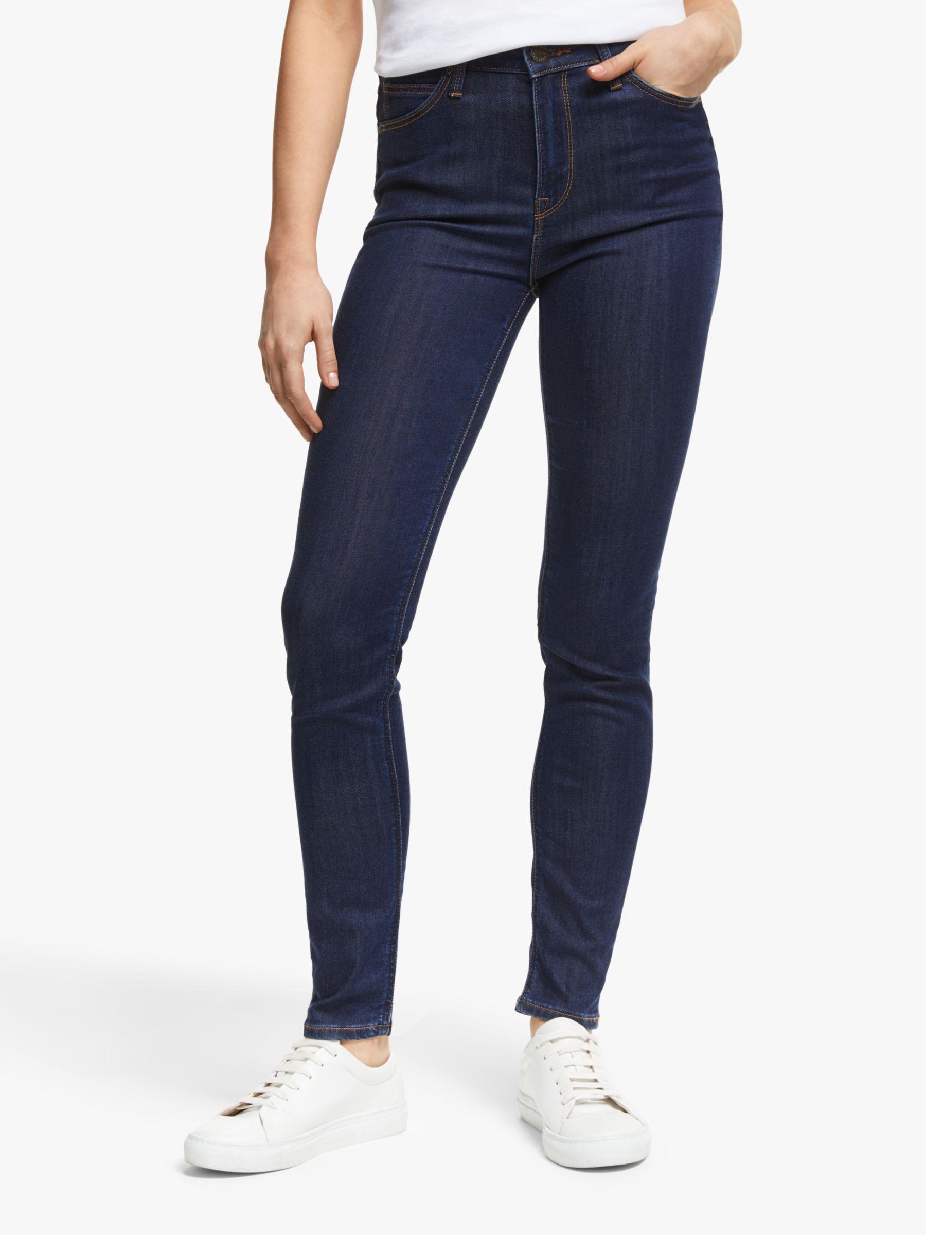 Lee Lee Scarlett High Waist Skinny Jeans, Tonal Stonewash