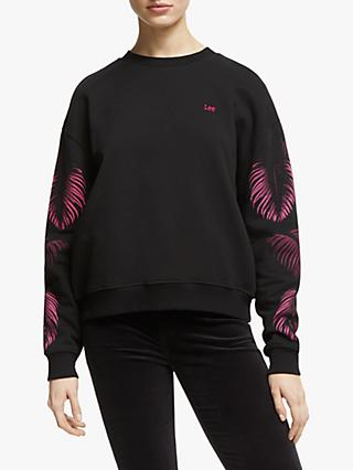 Lee Botanical Sweatshirt, Black