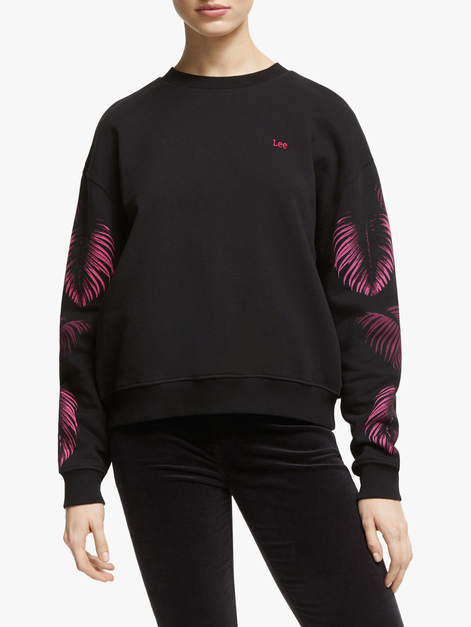 Lee Lee Botanical Sweatshirt, Black