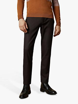 Ted Baker Speck Semi Plain Slim Fit Trousers