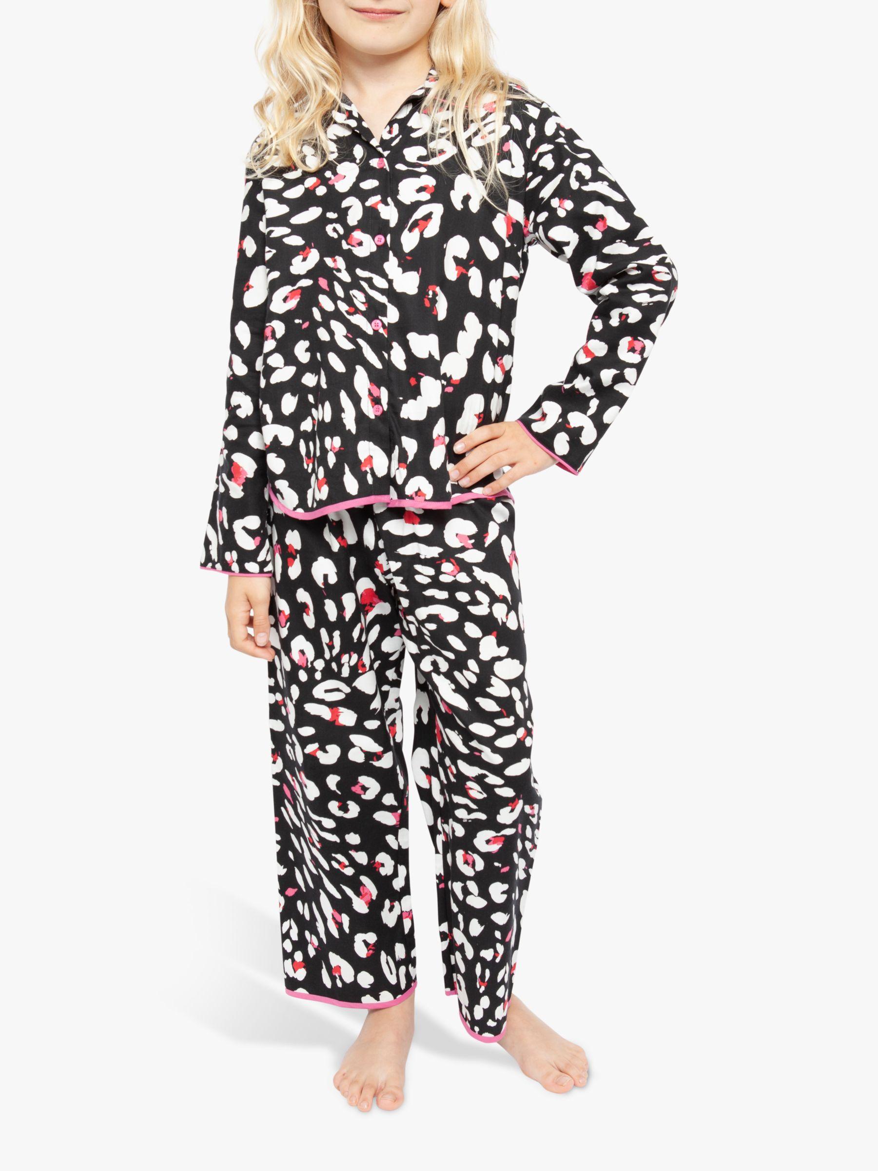Cyberjammies Cyberjammies Girls' Animal Long Sleeve Pyjama Set, Multi