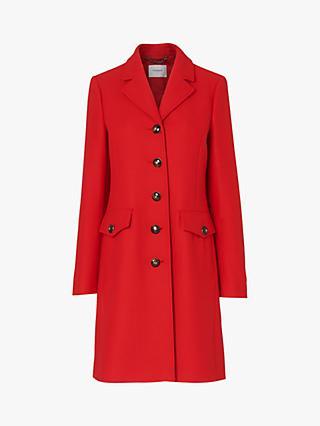 L.K.Bennett Eleanor Pea Coat, Red