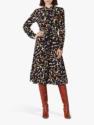 L.K.Bennett Runa Silk Shirt Dress, Multi
