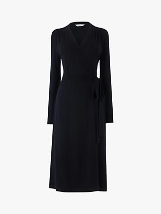 L.K.Bennett Juliette Wrap Dress, Navy