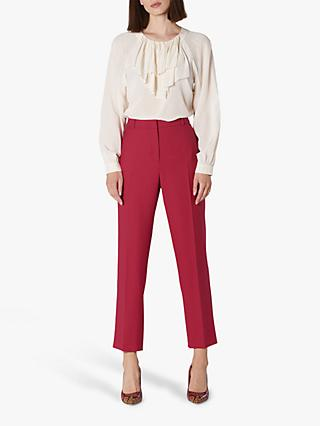 L.K.Bennett Floyd Tailored Trousers, Pink