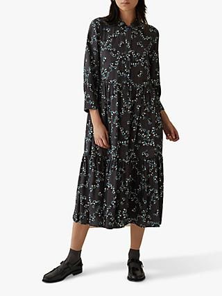 Toast Ume Floral Shirt Dress