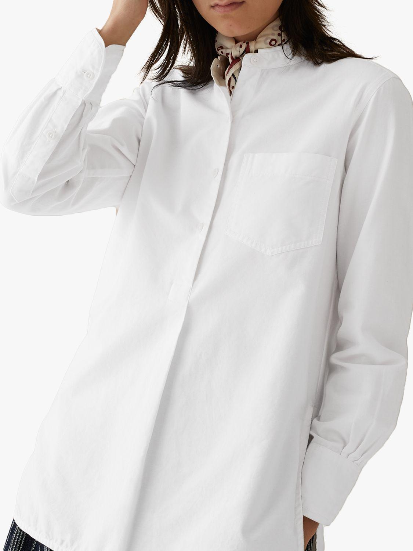 Toast Toast Cotton Oxford Shirt, Off White
