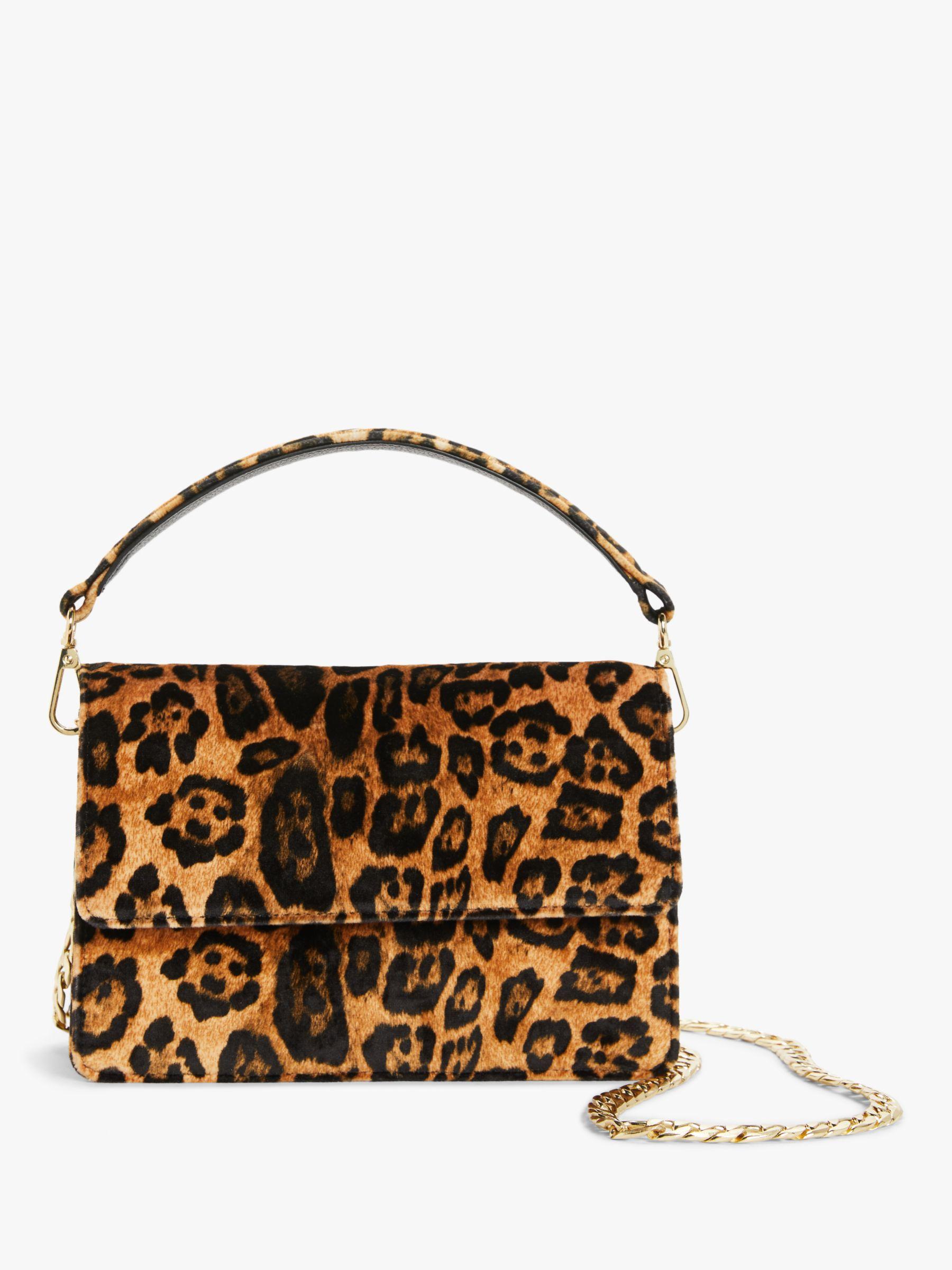 Becksondergaard Becksondergaard Leos Maik Leopard Print Bag, Brown