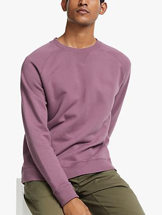 John Lewis & Partners Hursley Cotton Sweatshirt