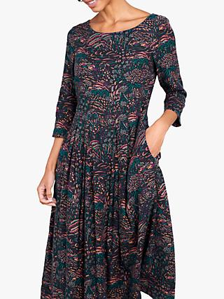 Seasalt Folk Tale Dress, Penworth Landscape Dark Night