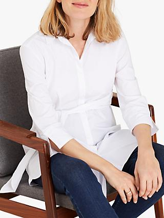 Isabella Oliver Kelly Maternity Shirt, Pure White