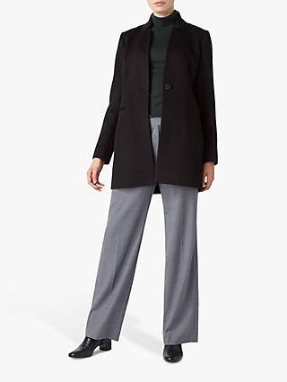 Hobbs Elysia Tailored Coat, Black
