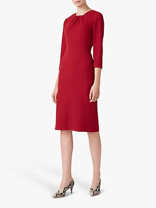 Hobbs Kirsten Dress, Cranberry