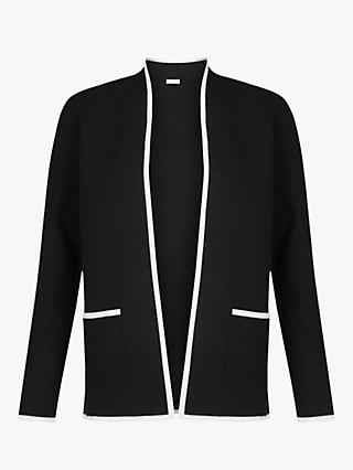 Hobbs Monica Jacket, Black/Ivory