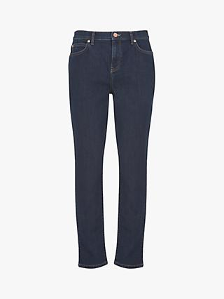 Mint Velvet Houston Slim Jeans, Dark Blue