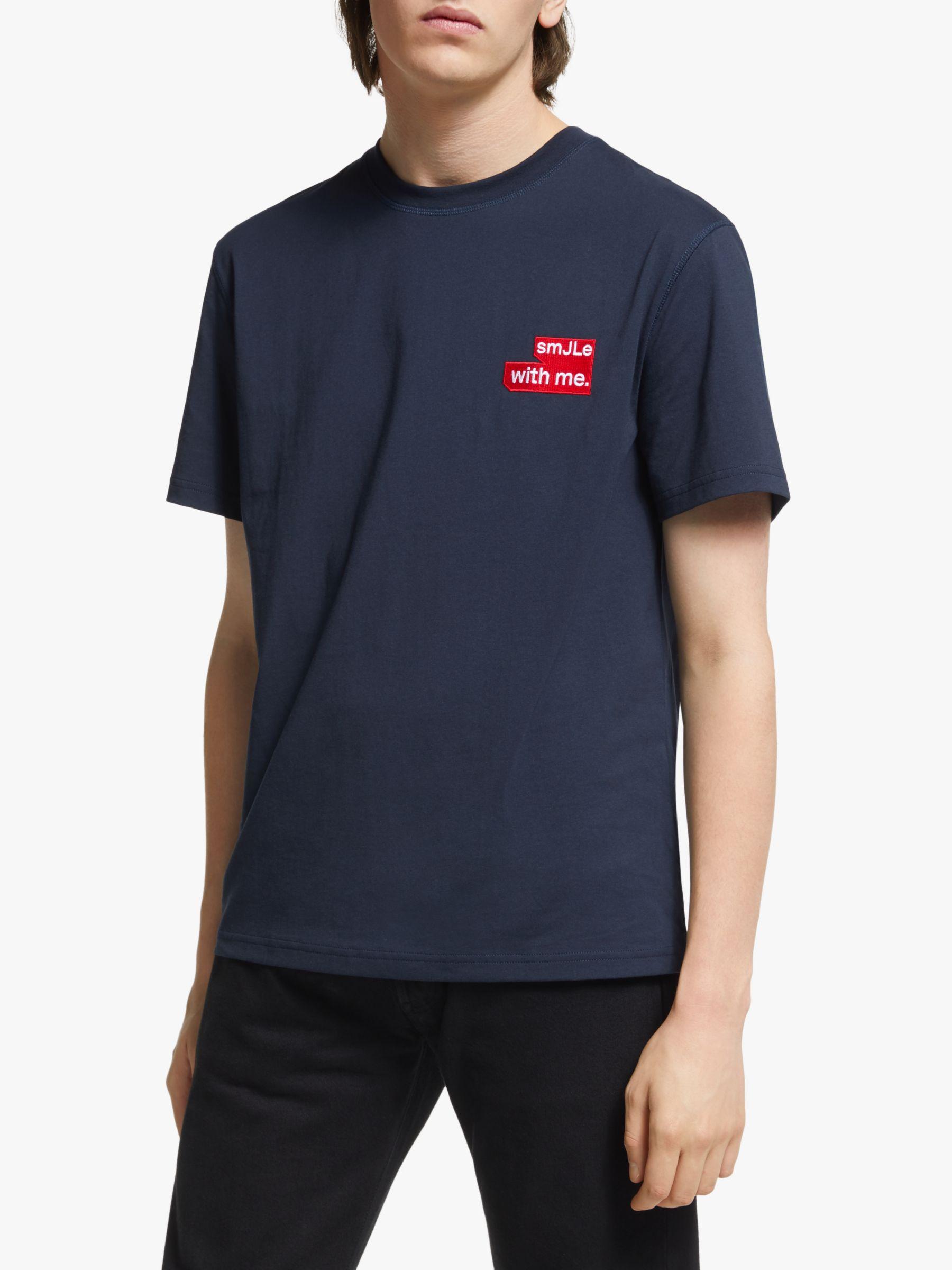J.LINDEBERG J.Lindeberg Jordan Distinct Cotton T-Shirt, Navy