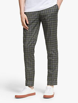 J.Lindeberg Grant Lux Check Trousers, Acid Dreams