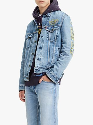 Levi's x Star Wars Bad Feeling Denim Trucker Jacket, Blue