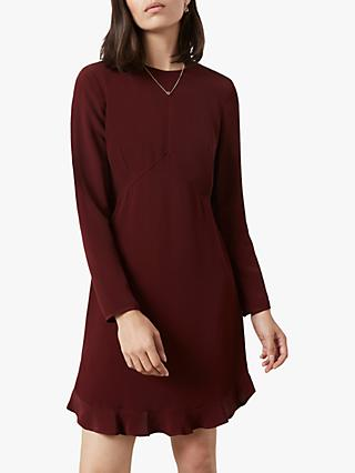 Finery Finchley Dress, Burgundy