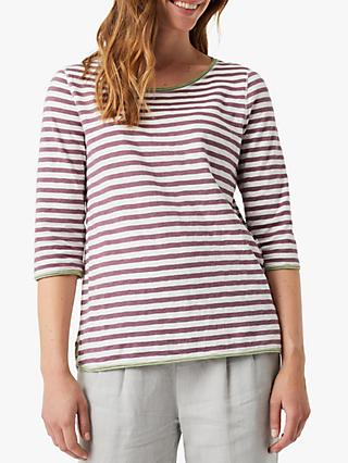 White Stuff Carley Stripe Jersey T-Shirt