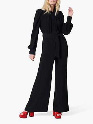 Finery Richmond Puff Sleeve Jumpsuit