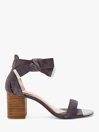 Ted Baker Loopie Suede Block Heel Sandals