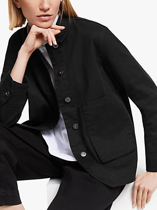 Kin Japanese Workwear Jacket, Black