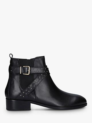 Carvela Truth Studded Leather Chelsea Boots, Black