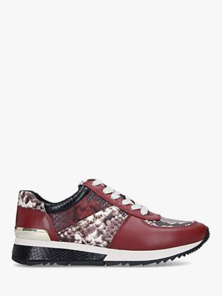 MICHAEL Michael Kors Allie Wrap Leather Trainers