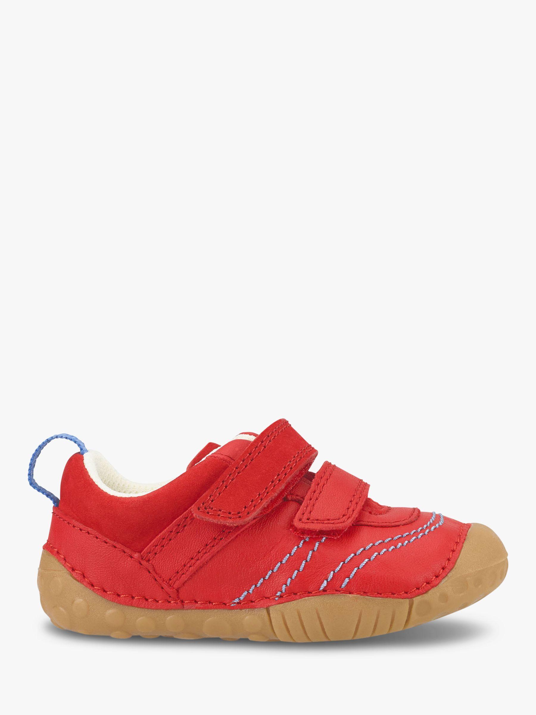 Start-Rite Start-rite Children's Leo T-Bar Buckle Pre-Walker Shoes, Red