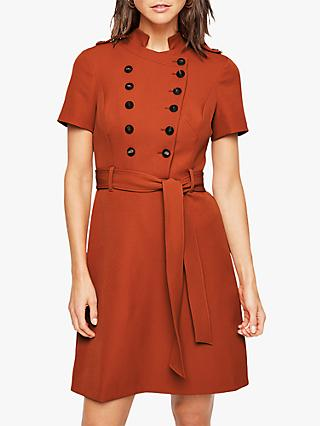 Damsel in a Dress Tirion Button Dress, Cinnamon