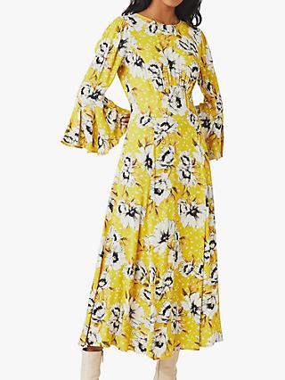 Ghost Luisa Floral Midi Dress, Patty Poppy Ditsy