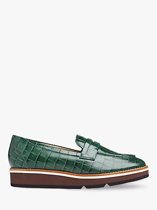 L.K. Bennett Shana Leather Loafers