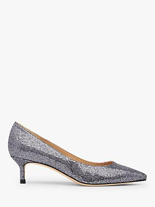 L.K.Bennett Audrey Pointed Toe Court Shoes, Grey