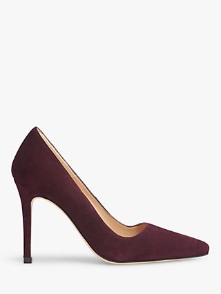 L.K.Bennett Katie Stiletto Heel Suede Court Shoes