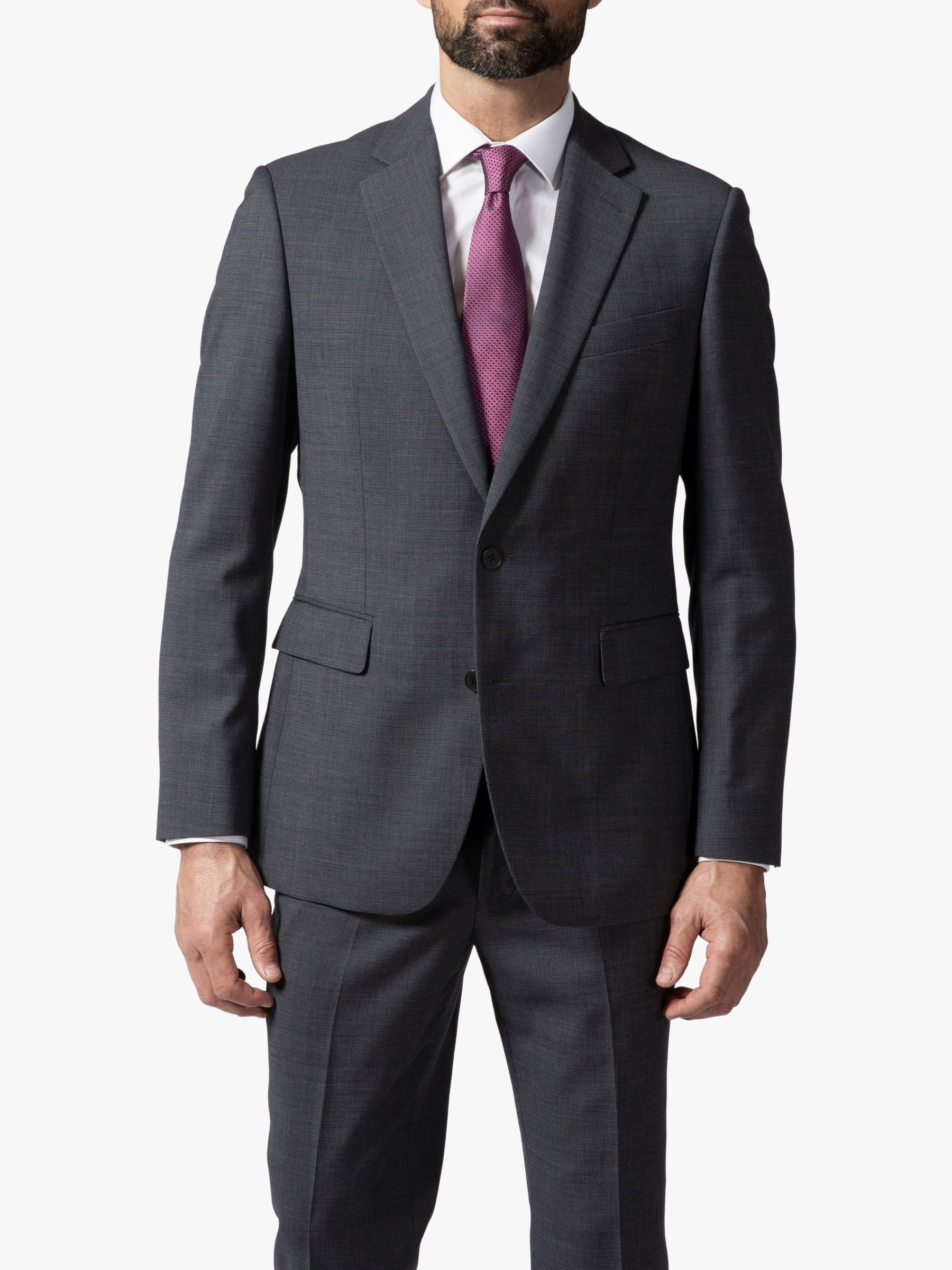 Chester by Chester Barrie Chester by Chester Barrie Micro Puppytooth Travel Suit Jacket, Grey
