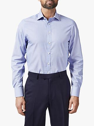 Chester by Chester Barrie Hairline Stripe Stretch Shirt, Blue