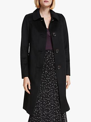 Boden Wilbraham Coat, Black