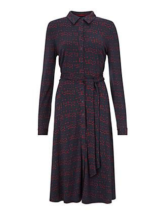 Boden Susannah Jersey Dress, French Navy