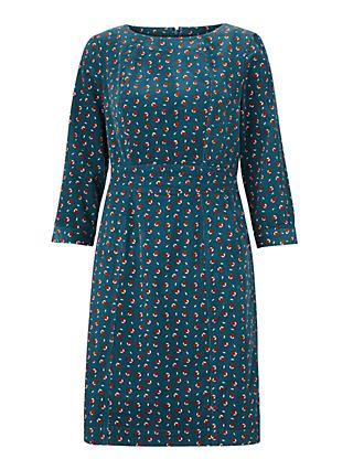 Boden Coraline Cord Dress, Baltic Pear